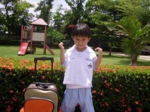 First day at school Thailand 1