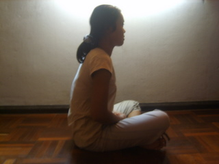 Oa Garrigan Meditating